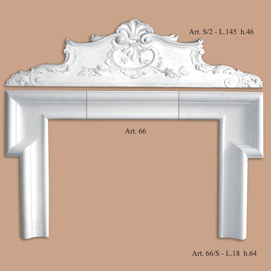 Sovraporte ribichini stucchi produzione stucchi - Stucchi decorativi per interni ...