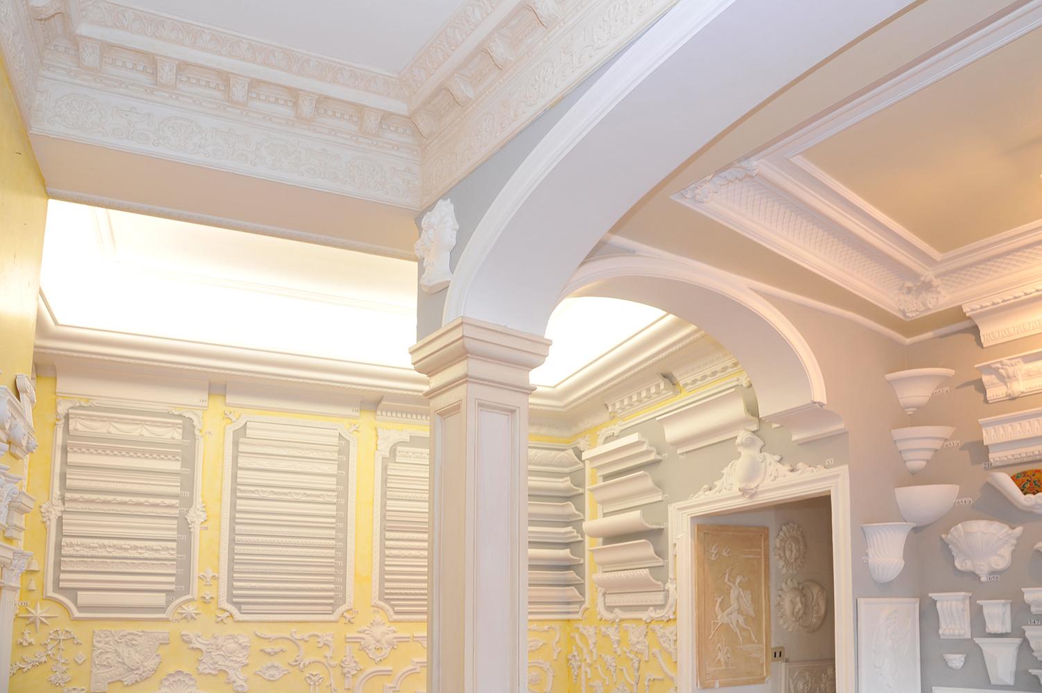 Stucchi in gesso per interni vn63 regardsdefemmes - Decori in gesso ...